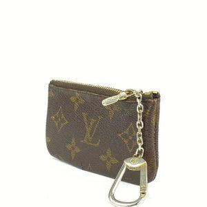 Louis Vuitton  Monogram Pochette Cles Key Pouch Ke